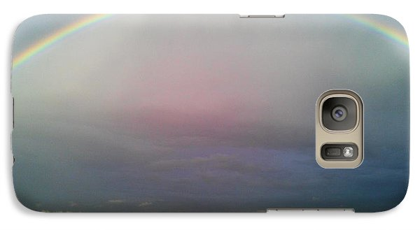 Galaxy Case featuring the photograph Under The Rainbow by Chris Tarpening