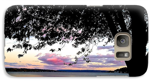 Galaxy Case featuring the photograph Under The Tree by Margie Amberge