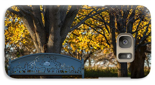 Galaxy Case featuring the photograph Under The Tree by Sebastian Musial