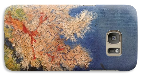 Galaxy Case featuring the painting Under Water Happiness  by Delona Seserman