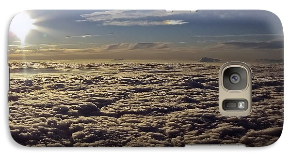 Galaxy Case featuring the photograph Undercast And Sun by Greg Reed
