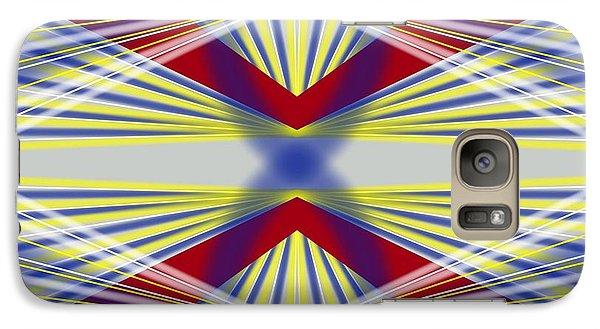 Galaxy Case featuring the digital art Underneath by Brian Johnson