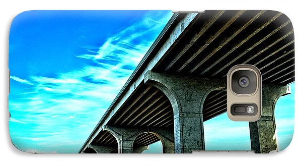 Galaxy Case featuring the photograph Underpass by Dennis Lundell