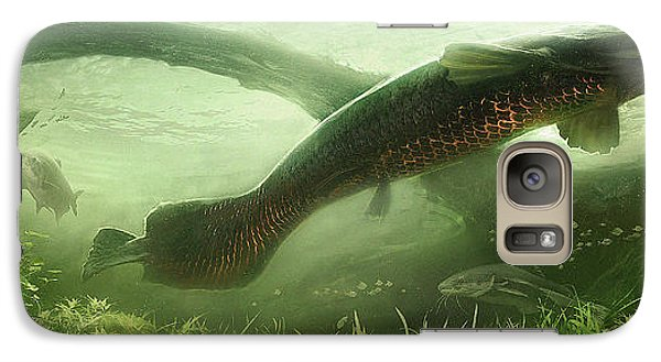 Catfish Galaxy S7 Case - Underpass by Javier Lazo