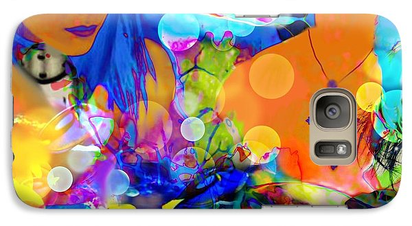 Galaxy Case featuring the digital art Undersea Dreams by Diana Riukas