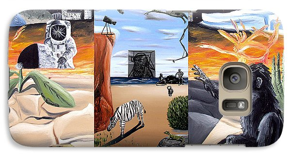Galaxy Case featuring the digital art Understanding Everything Full by Ryan Demaree