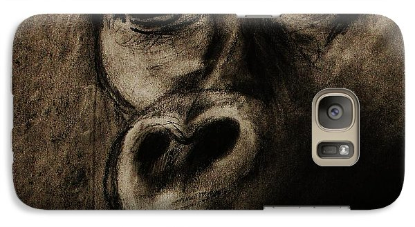 Galaxy Case featuring the drawing Understanding by Michael Cross