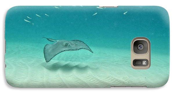 Underwater Flight Galaxy S7 Case by Peggy Hughes