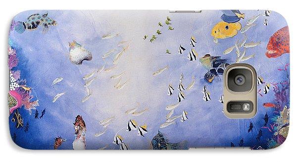Underwater World Iv  Galaxy S7 Case by Odile Kidd