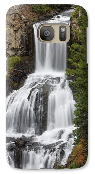 Galaxy Case featuring the photograph Undine Falls by Gerry Sibell