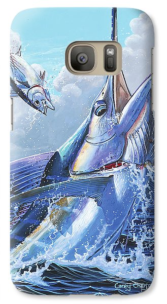 Sharks Galaxy S7 Case - Unexpected Off0093 by Carey Chen