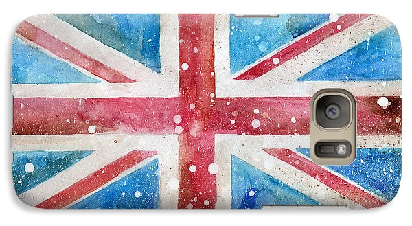 Def Leppard Galaxy S7 Case - Union Jack by Sean Parnell