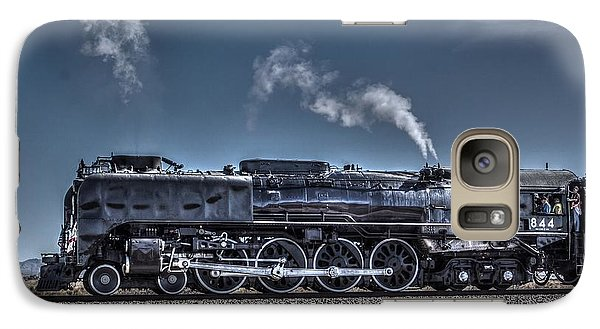 Galaxy Case featuring the digital art Union Pacific 844 by Photographic Art by Russel Ray Photos