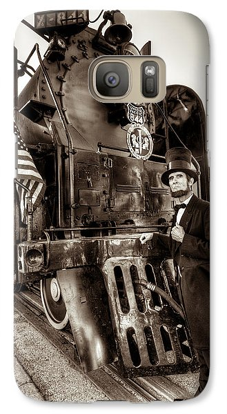 Galaxy Case featuring the photograph Union Pacific 844 by Tim Stanley