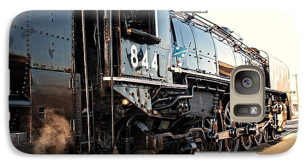 Galaxy Case featuring the photograph Union Pacific Engine #844 by Vinnie Oakes