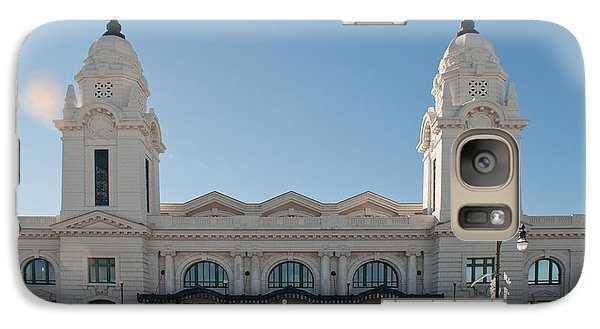 Galaxy Case featuring the photograph Union Station Worcester Massachusetts by John Black