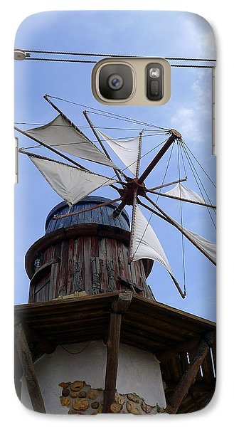 Galaxy Case featuring the photograph Universal Windmill by Richard Reeve