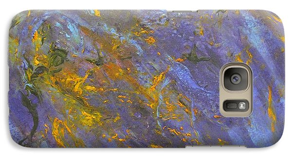 Galaxy Case featuring the painting Universe 2 by Riana Van Staden