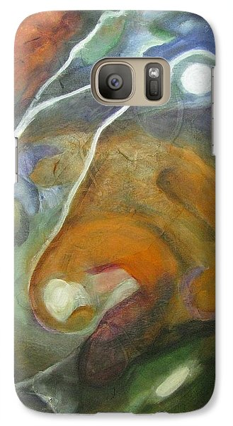 Galaxy Case featuring the painting Universe 3 by Riana Van Staden