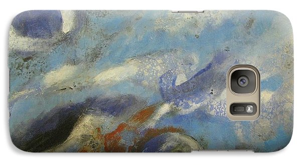 Galaxy Case featuring the painting Universe 5 by Riana Van Staden