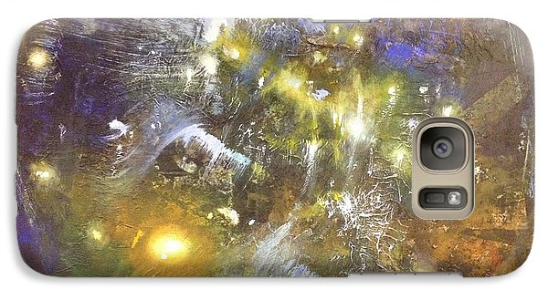 Galaxy Case featuring the painting Universe by Riana Van Staden