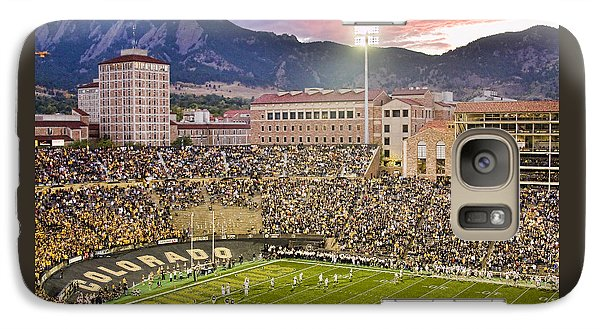 University Of Colorado Boulder Go Buffs Galaxy S7 Case