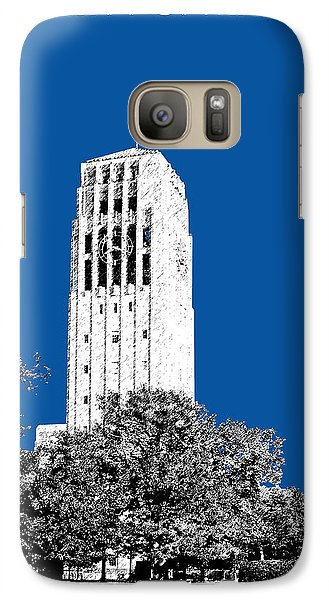University Of Michigan - Royal Blue Galaxy S7 Case by DB Artist