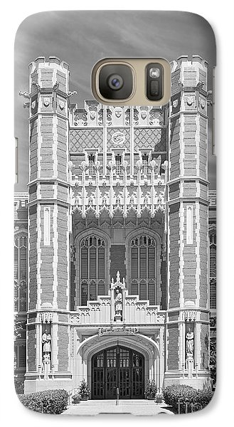 University Of Oklahoma Bizzell Memorial Library  Galaxy S7 Case by University Icons