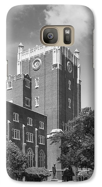 University Of Oklahoma Union Galaxy S7 Case by University Icons