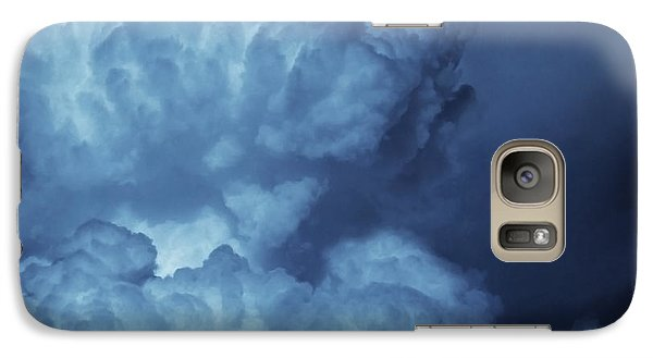 Galaxy Case featuring the photograph Unleashed by Ellen Cotton