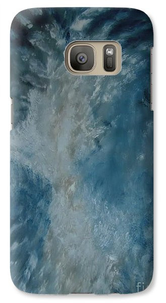 Galaxy Case featuring the painting Unparalyzed by Stuart Engel
