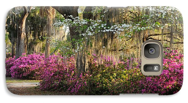 Galaxy Case featuring the photograph Unpaved Road In Spring by Bradford Martin