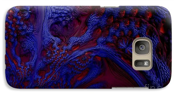 Galaxy Case featuring the digital art Unpolluted Ecosystem by Steed Edwards