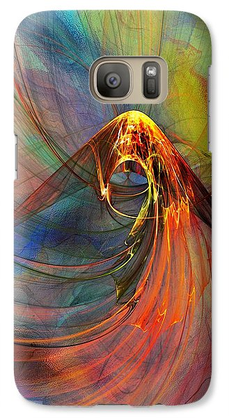 Galaxy Case featuring the digital art Untitled 061214  by David Lane