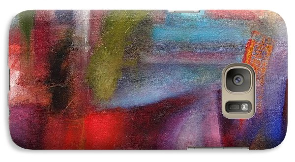 Galaxy Case featuring the painting Untitled #3 by Jason Williamson