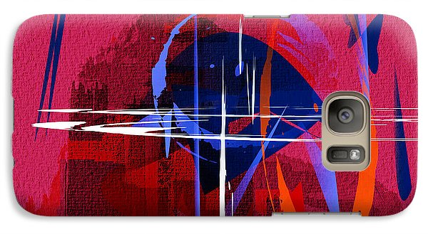 Galaxy Case featuring the digital art Untitled 30 by Andrew Penman