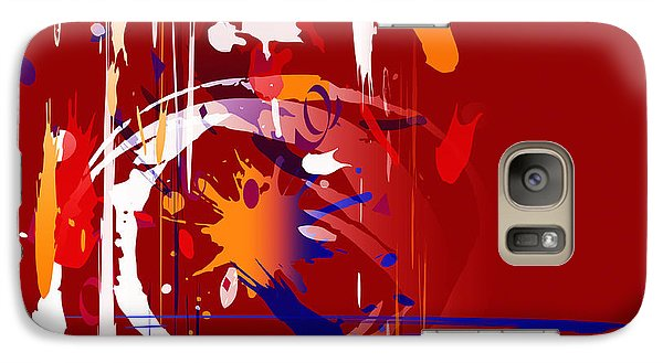Galaxy Case featuring the digital art Untitled 35 by Andrew Penman