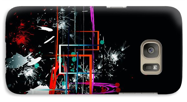 Galaxy Case featuring the digital art Untitled 42 by Andrew Penman