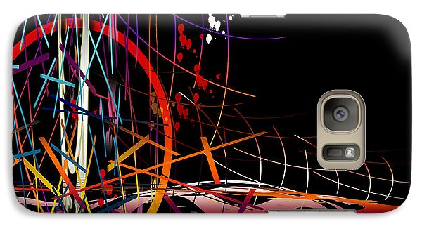 Galaxy Case featuring the digital art Untitled 58 by Andrew Penman