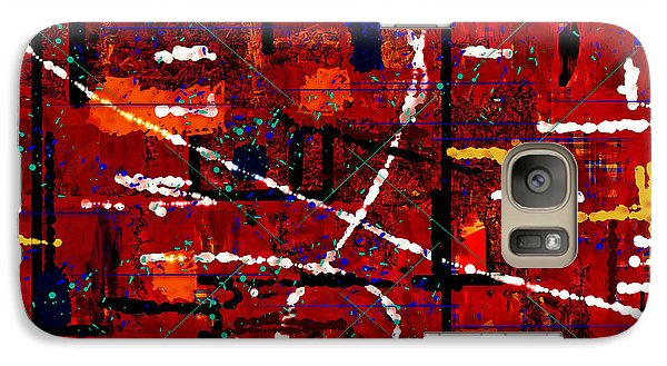 Galaxy Case featuring the digital art Untitled 65 by Andrew Penman
