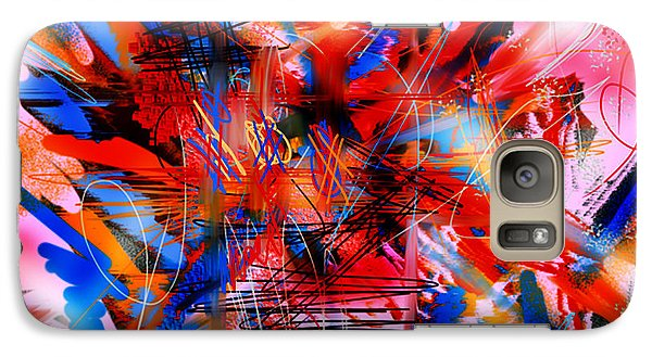 Galaxy Case featuring the digital art Untitled 67 by Andrew Penman