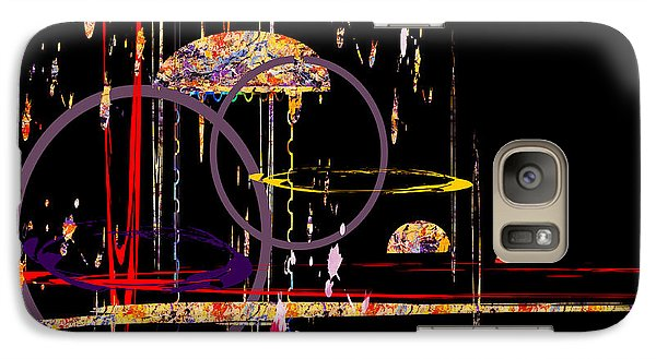 Galaxy Case featuring the digital art Untitled 68 by Andrew Penman