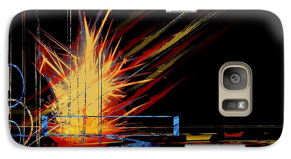 Galaxy Case featuring the digital art Untitled 69 by Andrew Penman