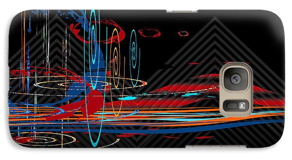 Galaxy Case featuring the digital art Untitled 76 by Andrew Penman
