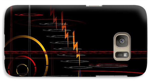 Galaxy Case featuring the digital art Untitled 84 by Andrew Penman