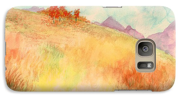 Galaxy Case featuring the painting Untitled Autumn Piece by Andrew Gillette