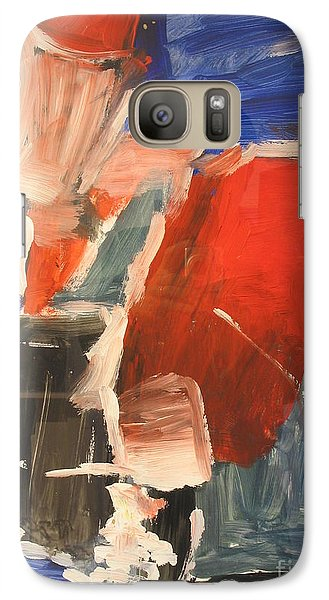 Galaxy Case featuring the painting Untitled Composition I by Fereshteh Stoecklein