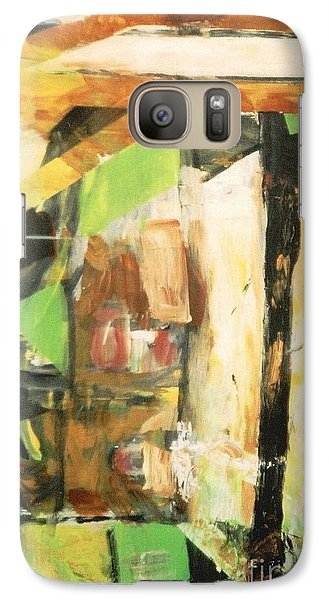 Galaxy Case featuring the painting Untitled Composition IIi by Fereshteh Stoecklein