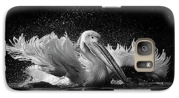 Pelican Galaxy S7 Case - Untitled by C.s. Tjandra