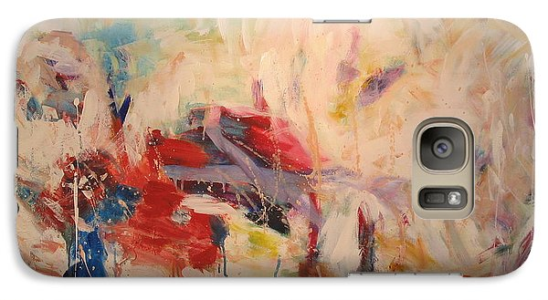 Galaxy Case featuring the painting untitled II by Fereshteh Stoecklein